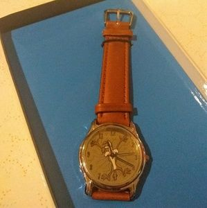 Wile E. Coyote Fossil watch